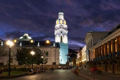 Dinning in Quito