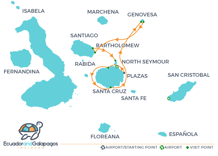 Itinerary C - Northern Islands