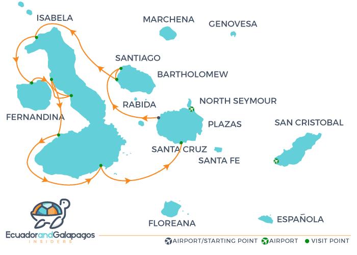 Itinerary a - Western Islands