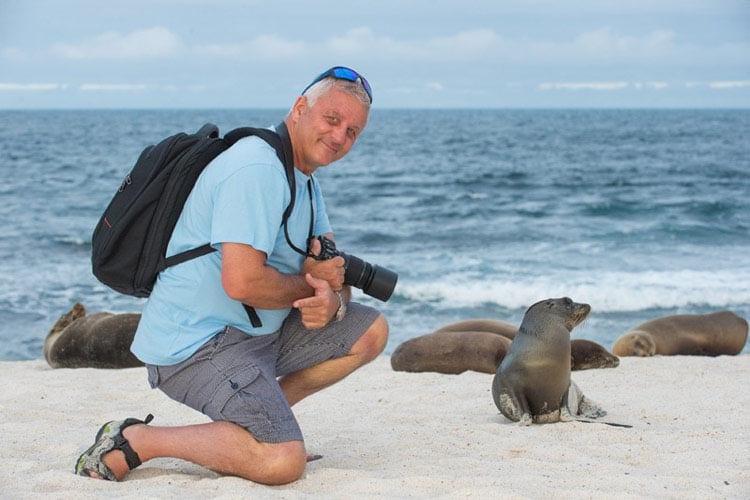 Galapagos active tour