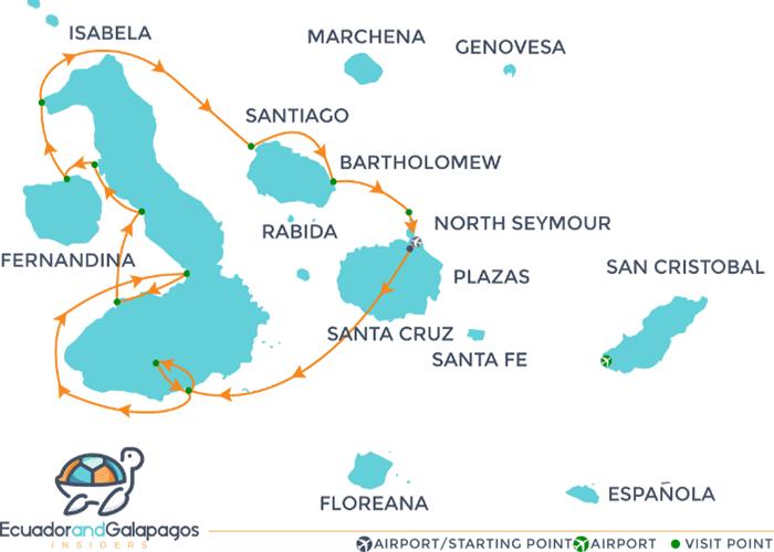 IItinerary Isabela - Western Islands