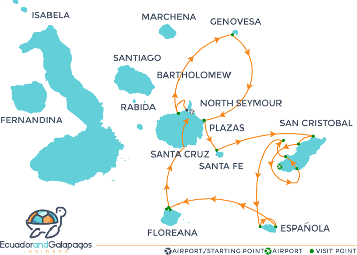 Itinerary A - Southern and Northern Islands