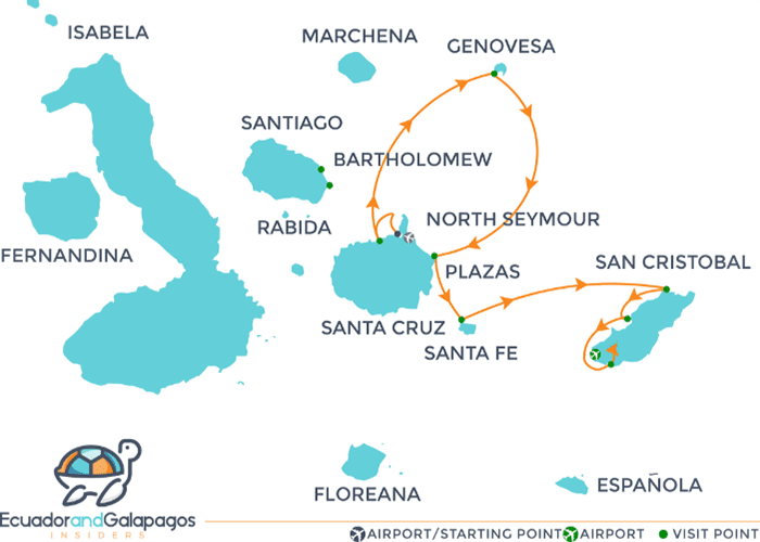 Itinerary 5 days - North & East Islands