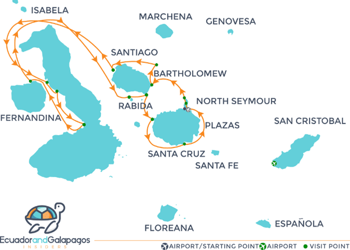 Itinerary 1 - North & West Islands
