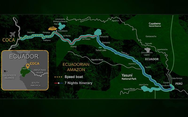 Napo Wildlife Center activities